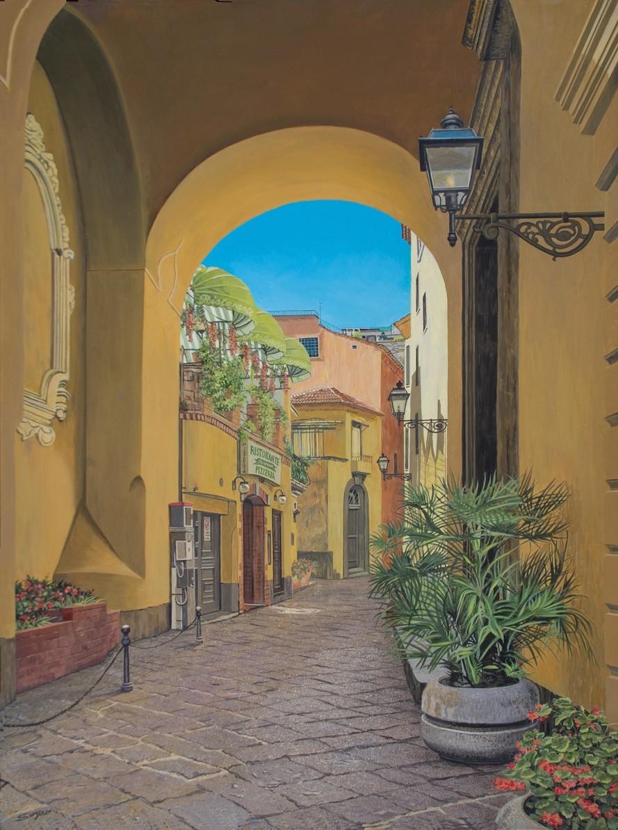 Morning in Sorrento