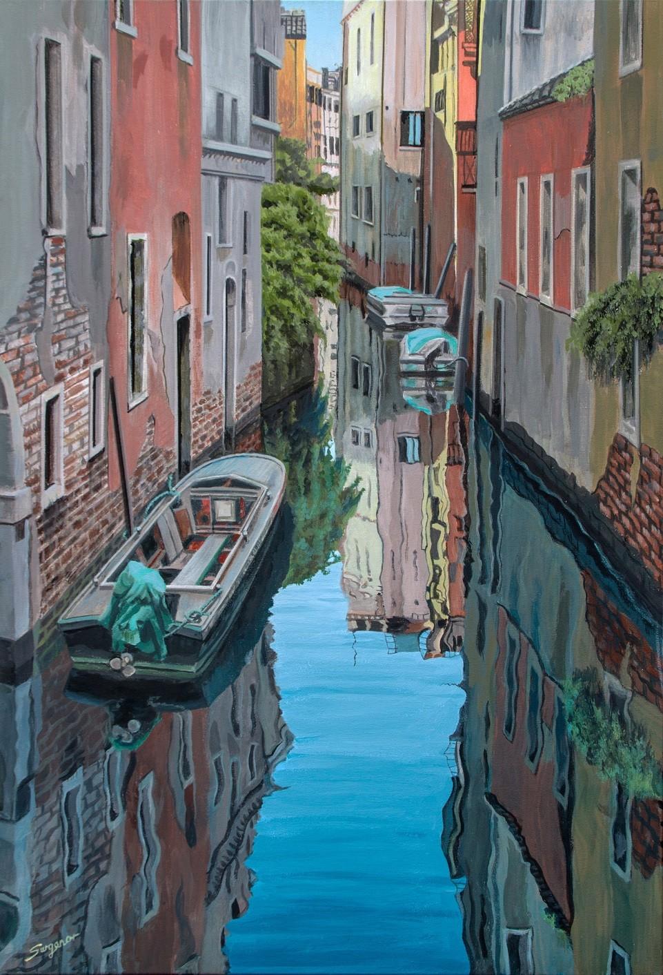 Morning reflections, Venice