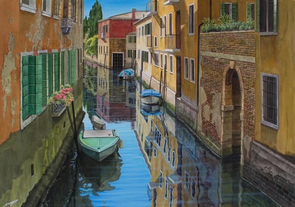 A quiet spot, Venice
