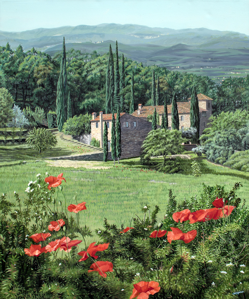 A Spring day in Tuscany