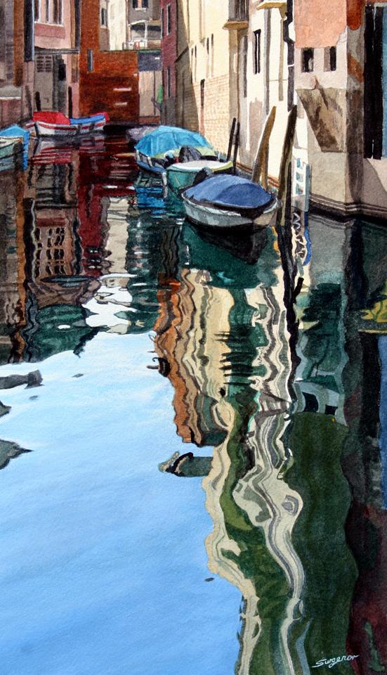 Deep reflections