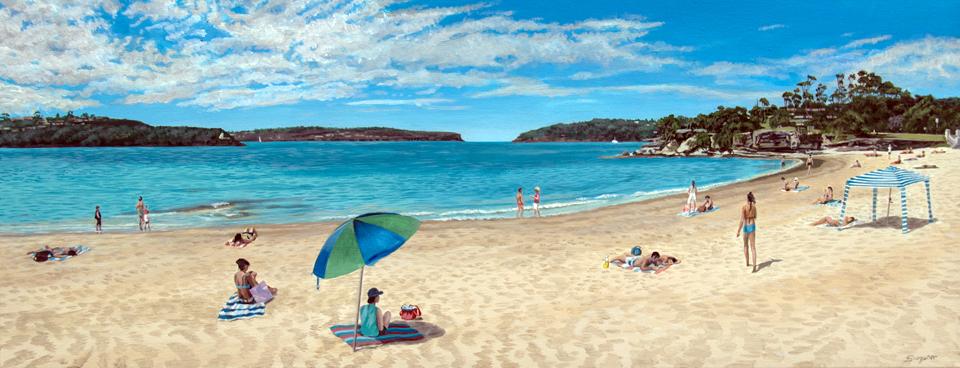 Day at the beach, Balmoral
