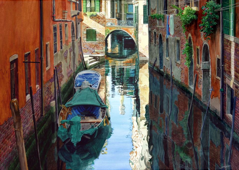 Two bridges, Venice