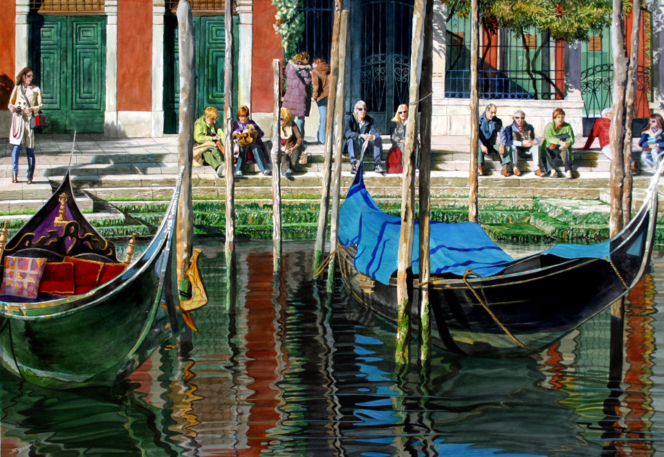 Lunchtime, Venice