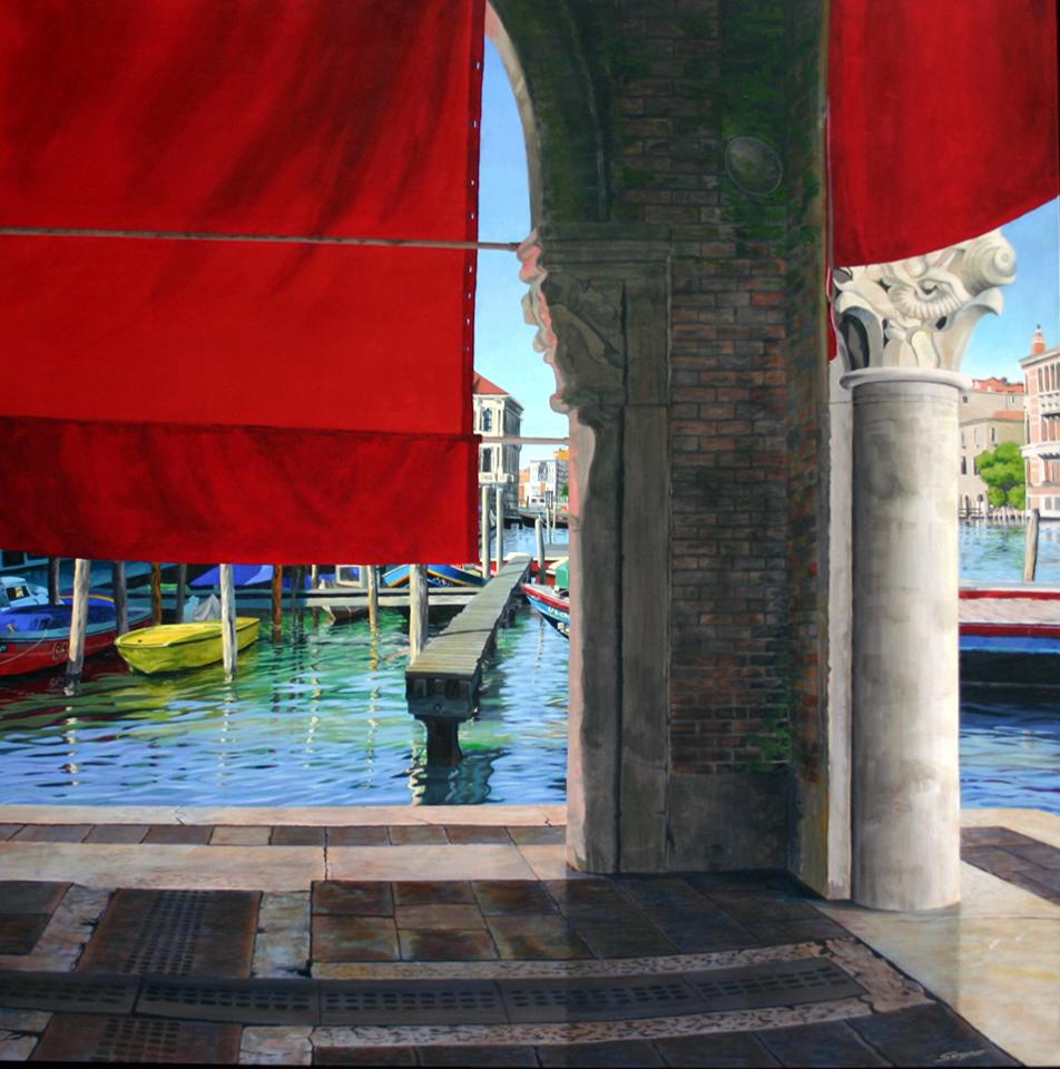 The Rialto fish markets, Venice