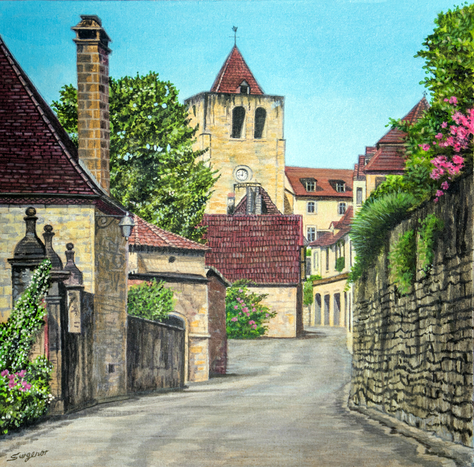 A quiet street, France